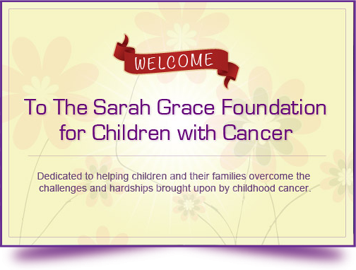 Welcome to the Sarah Grace Foundation