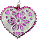 Sarah's Heart Ornament